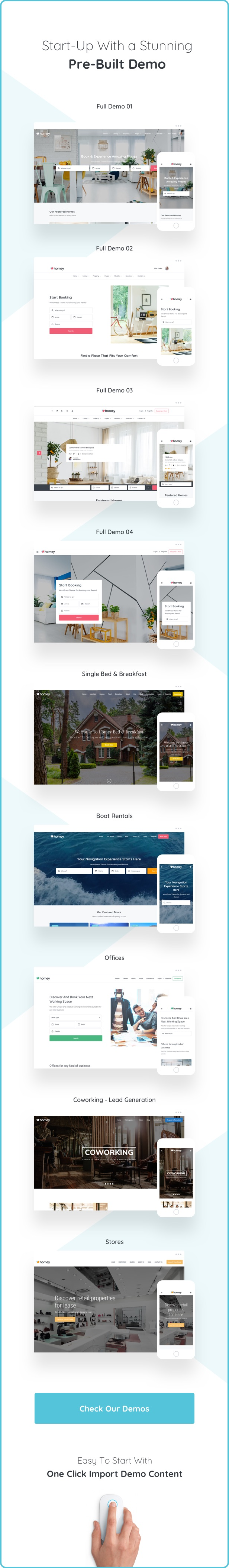 Homey - Booking and Rentals WordPress Theme - 6