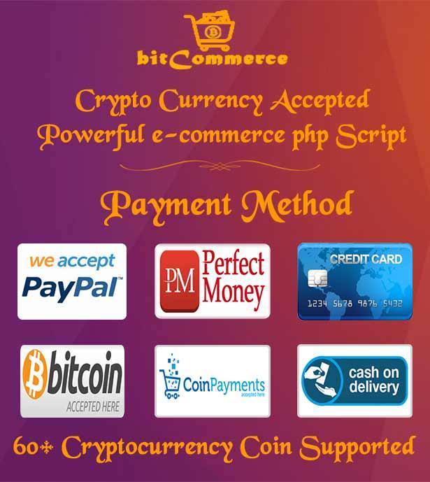 E-ticaret - Cryptocurrency Desteklenen Duyarlı e-ticaret İş Platformu - 5