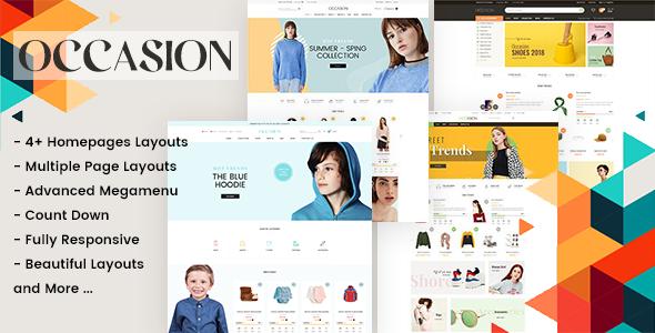 Occasion - Premium Shopify theme
