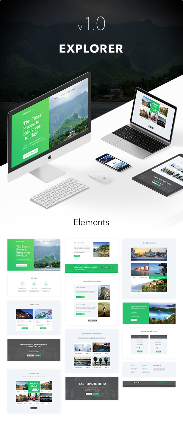 Explorer - Responsive Email + Themebuilder Access - 1