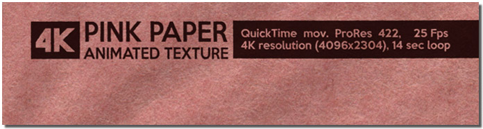 Pink Paper Animated Texture