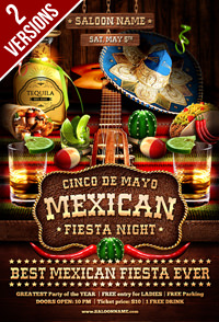 Salsa Party Flyer Template - 14