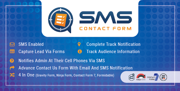 WP SMS Contact Form