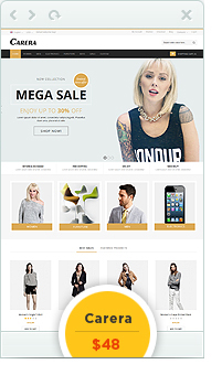 Carera OpenCart Theme