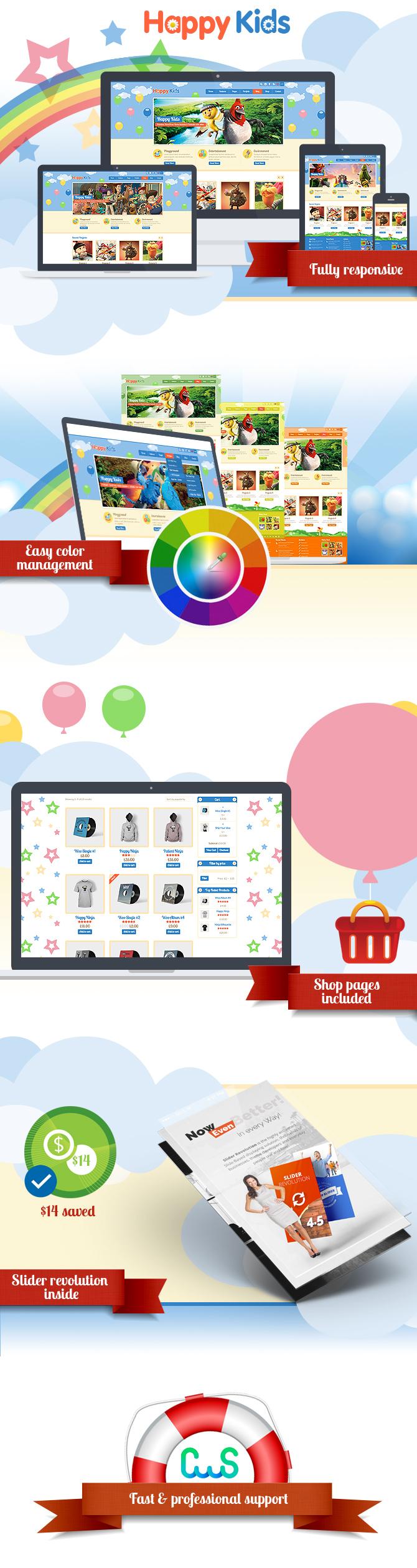 Happy Kids - Multipurpose HTML Template - 1