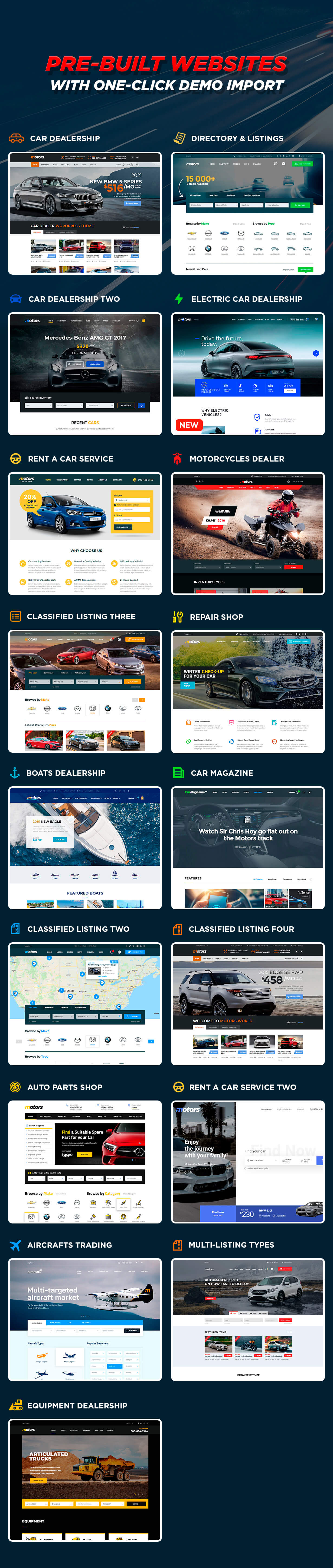 Motors - Car Dealer, Rental & Listing WordPress theme - 15