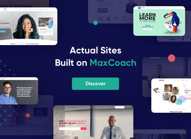 MaxCoach - Online Courses, Personal Coaching & Education WP Theme by ThemeMove
