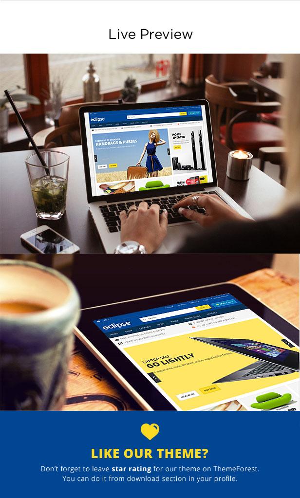 online Digital store theme