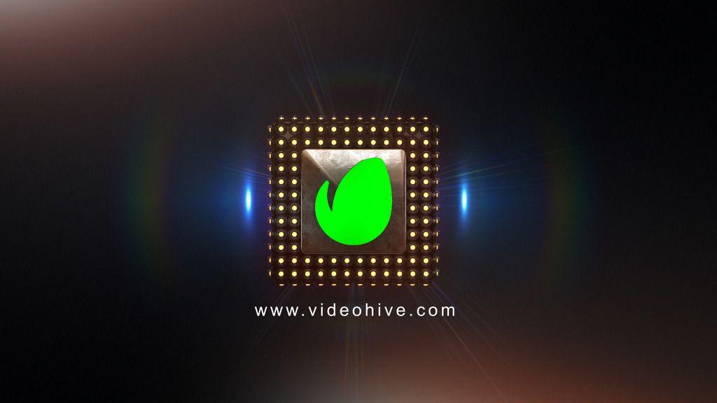 Cube Bulb Logo Reveal / Element 3D