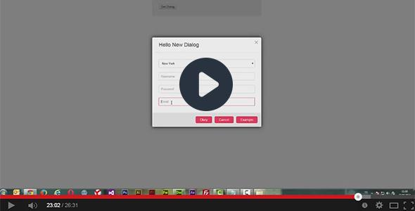 Super Dialog Modal Window - jQuery Plugin - 1