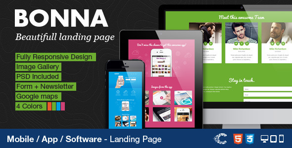 Celegorm Software/App Bootstrap Landing Page - 14