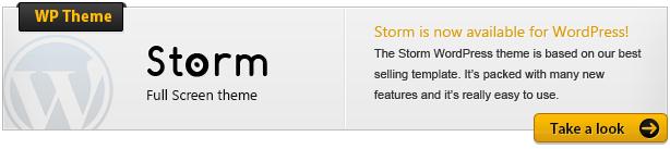 storm wordpress