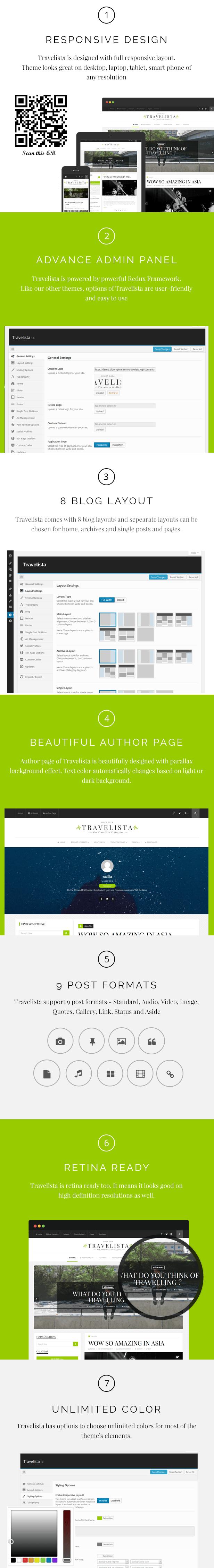 Travelista - WordPress Blog Theme - 4