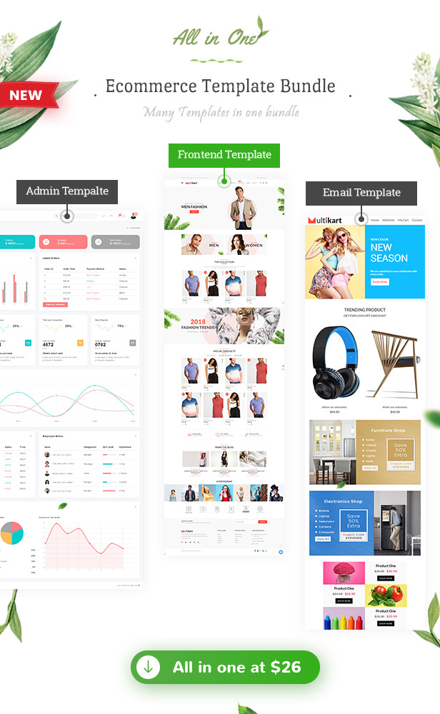 Multikart - Responsive React eCommerce Template by