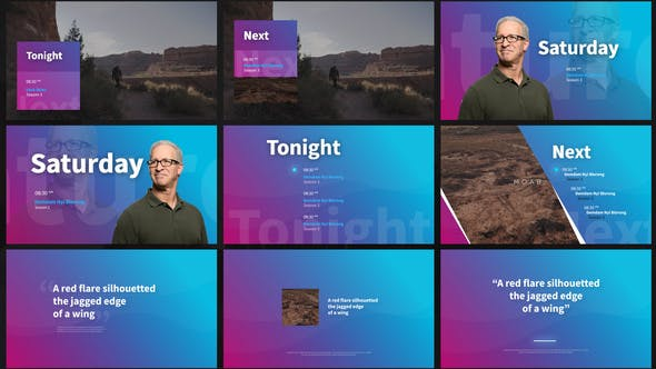 Broadcast TV Channel Idents - 1