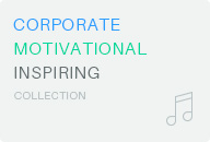 Corporate Motivational Inspiring music audio collection on Audiojungle