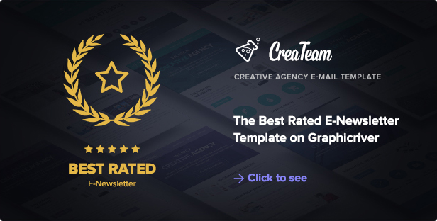 Best Rated E-Newsletter Template