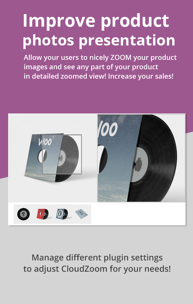 Ultimate WooCommerce CloudZoom for Product Images - 6