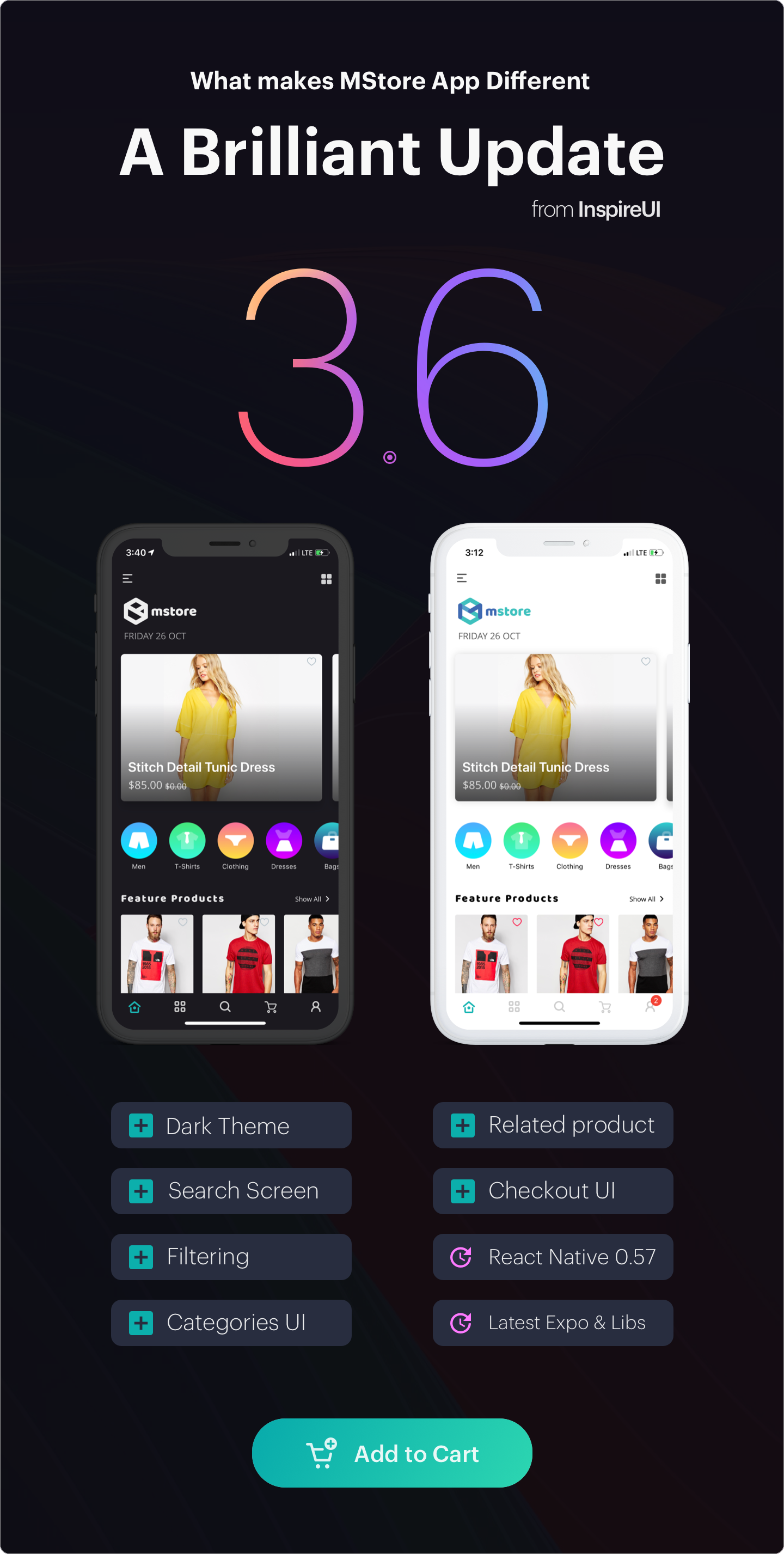 Mstore Expo - Complete React Native template for WooCommerce - 17