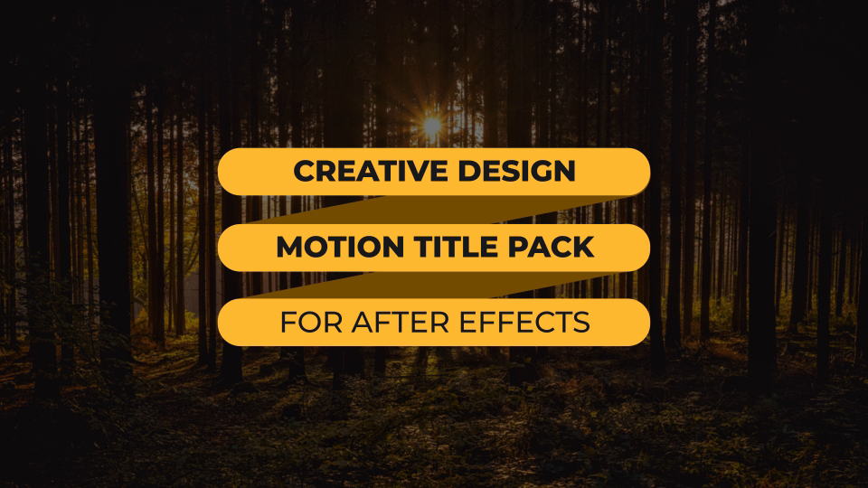 Special Modern Titles Pack for FCPX - 5
