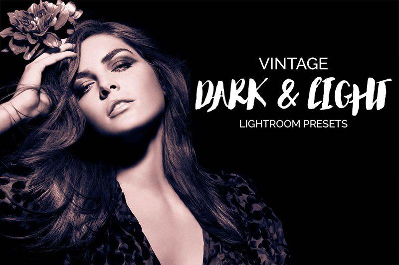 Vintage Dark & Light Lightroom Presets