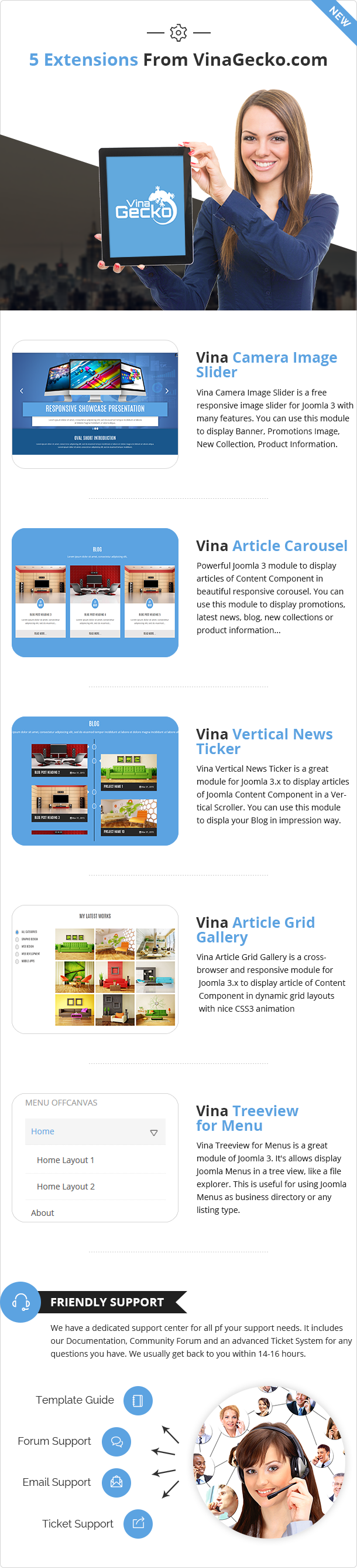 Vina Oval :: Responsive Joomla 3 One Page Template - 7