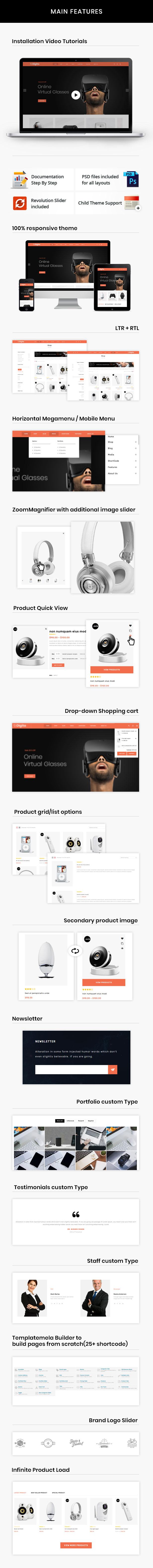 Digita - WooCommerce Parallax Theme 8