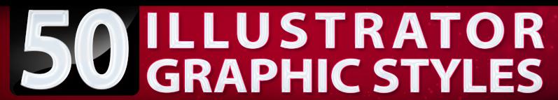 50 Illustrator Graphic Styles Vol.3 Bundle - 3