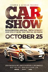 72_Car_show_flyer