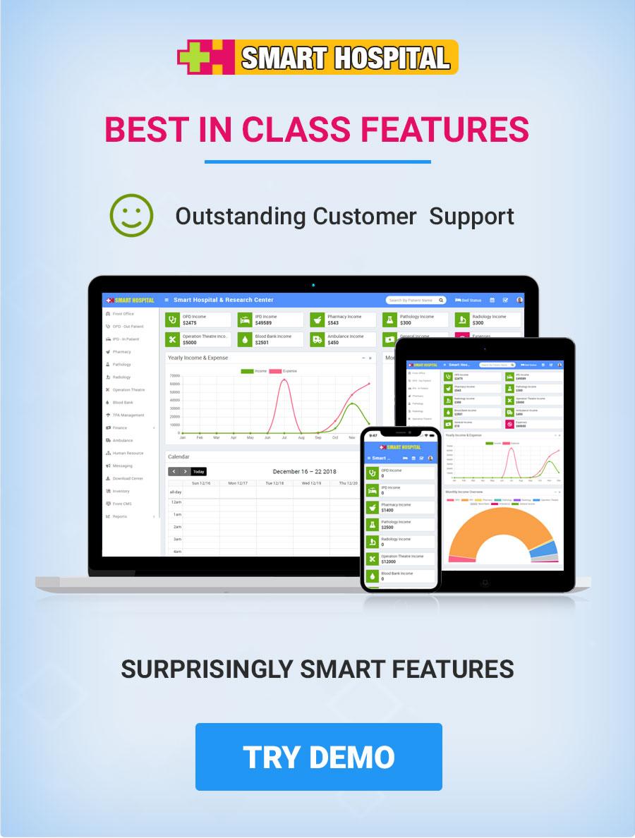 Smart Hospital : Hospital Management System - 2