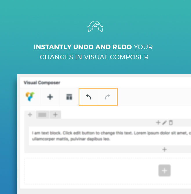 Try out Undo & Redo for WPBakery Page Builder in a live environment first before you buy