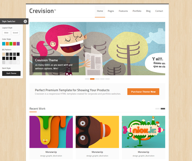 Crevision - Responsive HTML Template - 3