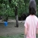 Girl Playing In Water - 128