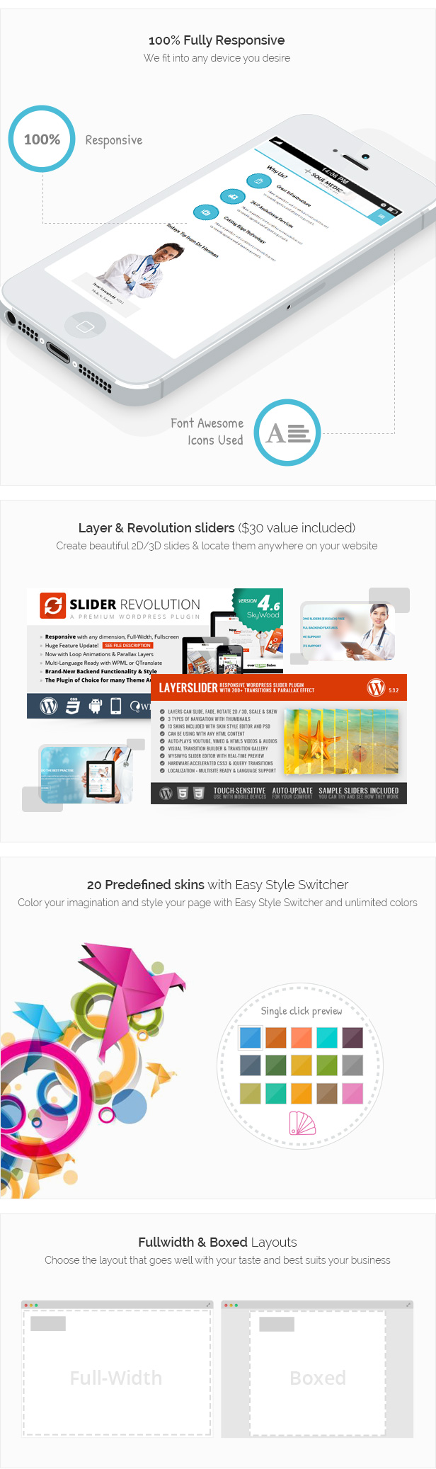 SoulMedic | Hospital & Doctor WordPress Theme - 4