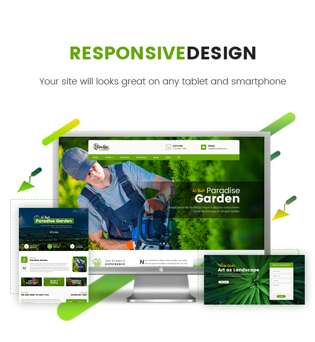 QParadise - Gardening and Landscaping WordPress Theme - 4