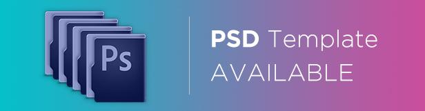 Gleesik - PSD Template