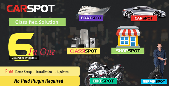 CarSpot - Car Services - Inventory - Automotive, Dealership, Classified WP Theme