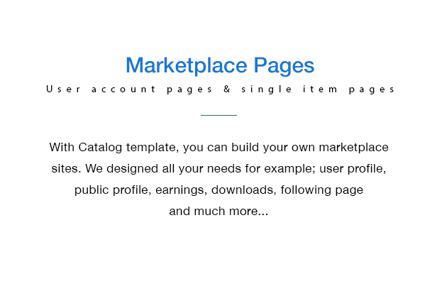 Catalog - Buy Sell / Marketplace Responsive WordPress Theme