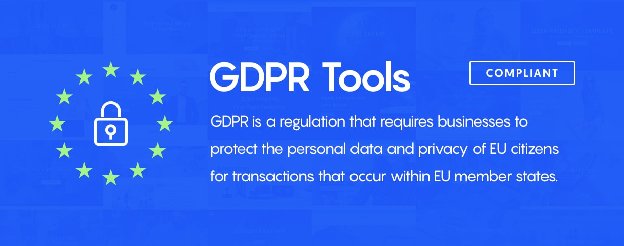GDPR Tools Compatible - Cesis WordPress