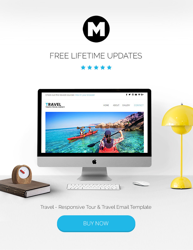 Travel - Responsive Tour & Travel Email Template - 5