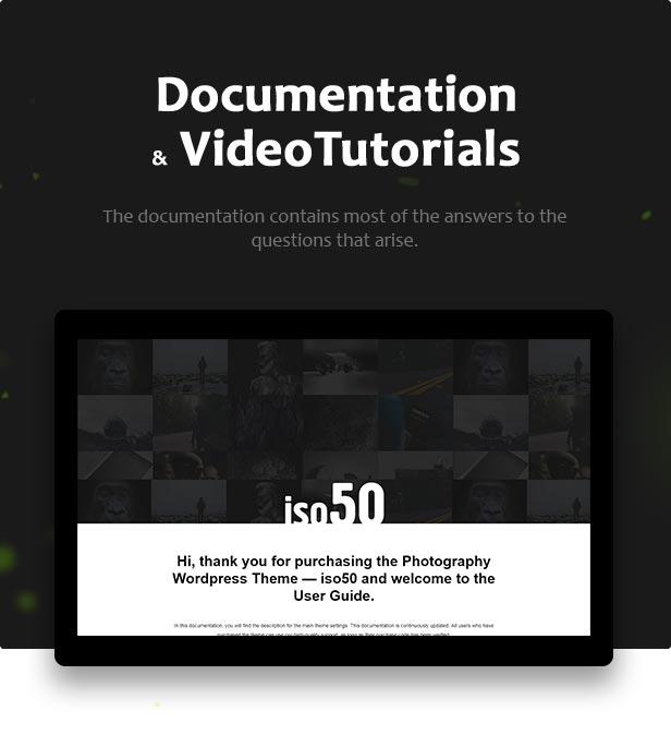 Iso50 – Tema de WordPress de fotografía – Plantillas TutorialMonsters