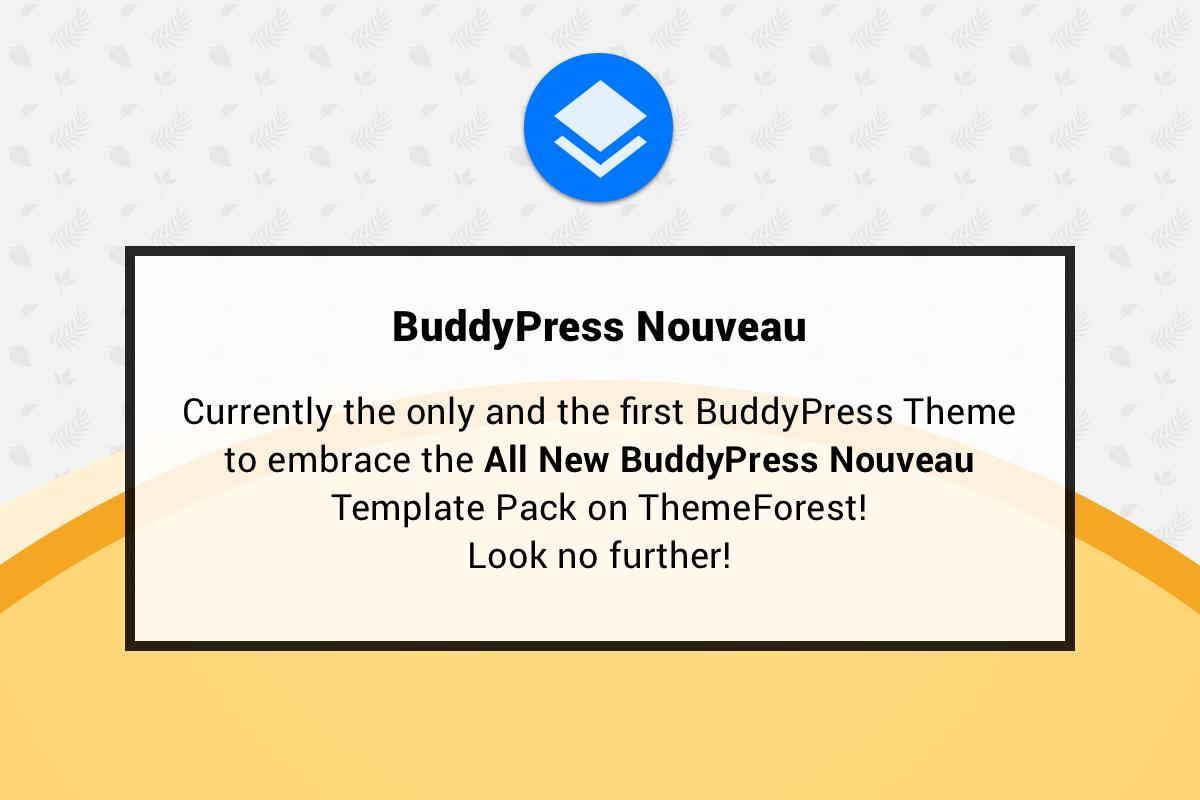 BuddyPress Nouveau Theme