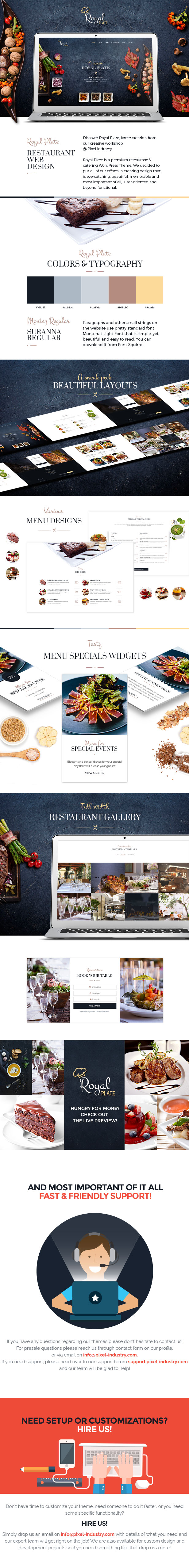 Royal Plate Restaurant Food Cuisine and Catering HTML Template