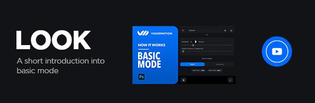 Vigormotion Photoshop Plugin for Animation - 5