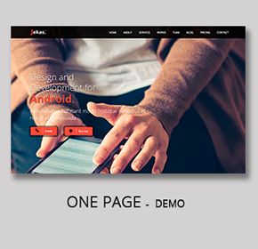 Software, Technology & Business Bootstrap Html Template - Jekas - 12