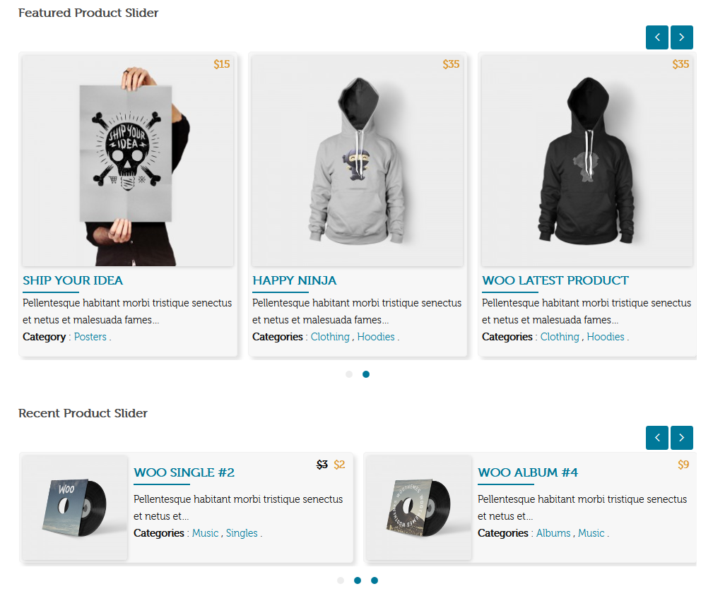 WooCommerce Manage Pages Layout With Unlimited Owl Slider - 10