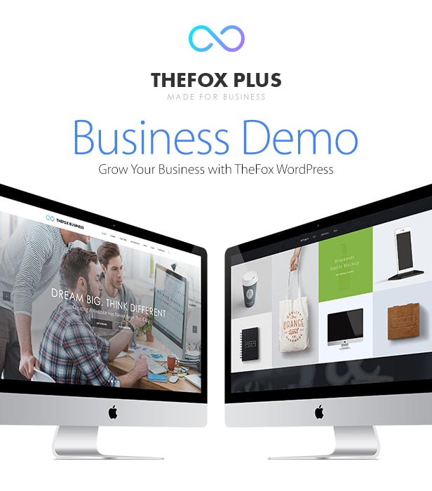 TheFox Business WordPress Theme - Version 1.3 New Update