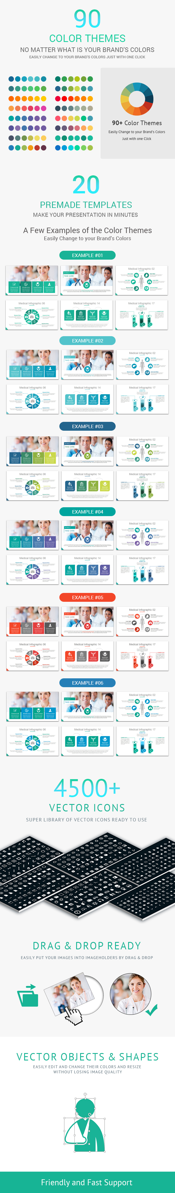 Medical and Healthcare PowerPoint Presentation Template - 1