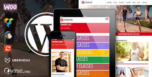 GYM - Sport Fitness Bootstrap Responsive Theme - 4