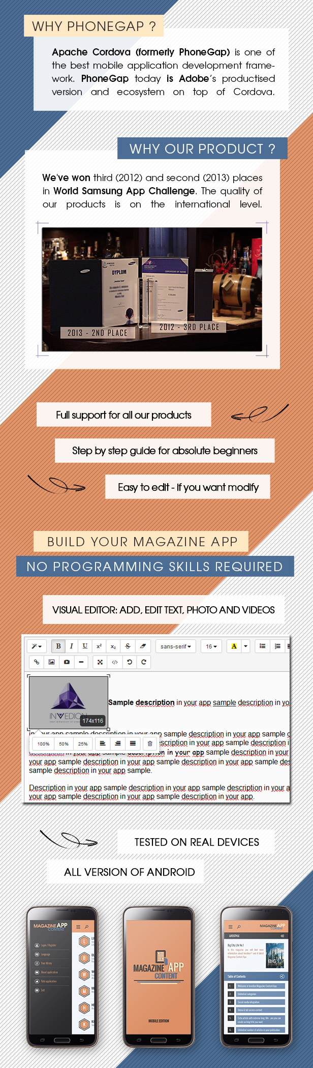 Magazine Content App With CMS - Android [ AdMob | Push Notifications | Offline Storage ] - 2
